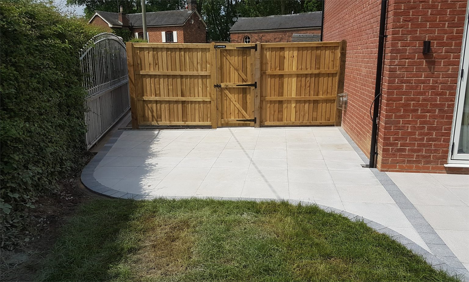 new build patio